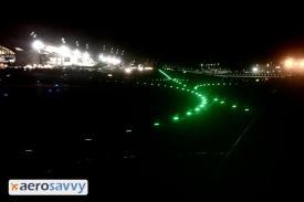 Green centerline lights - Airport Lights - AeroSavvy