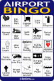 AeroSavvy Airport Bingo Card 4