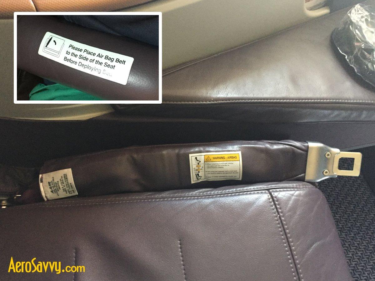 Amsafe Aircraft Full Seat Belt