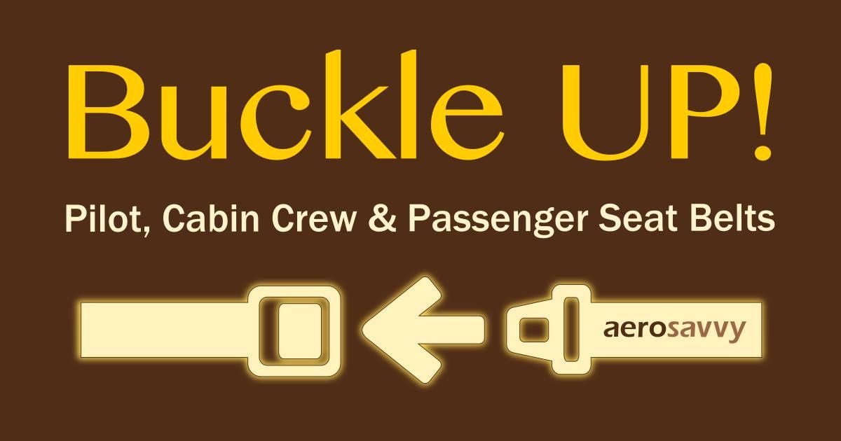 380161dd Buckle Up: Pilot, Cabin Crew & Passenger Seat Belts - AeroSavvy