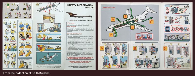 UPS Passenger Briefing card - UPS Passenger Flights - AeroSavvy