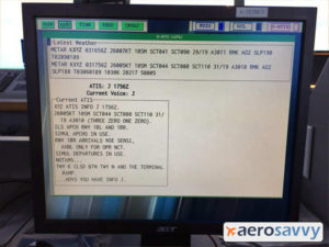 D-ATIS Editor Screen - Aerosavvy