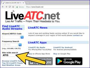 LiveATC.net Screenshot - Aerosavvy