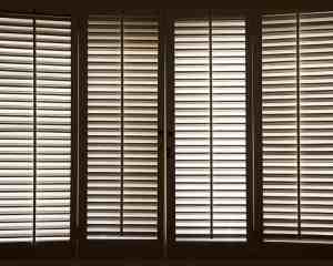 Custom Wood Shutters from Aero Shade Co in Los Angeles