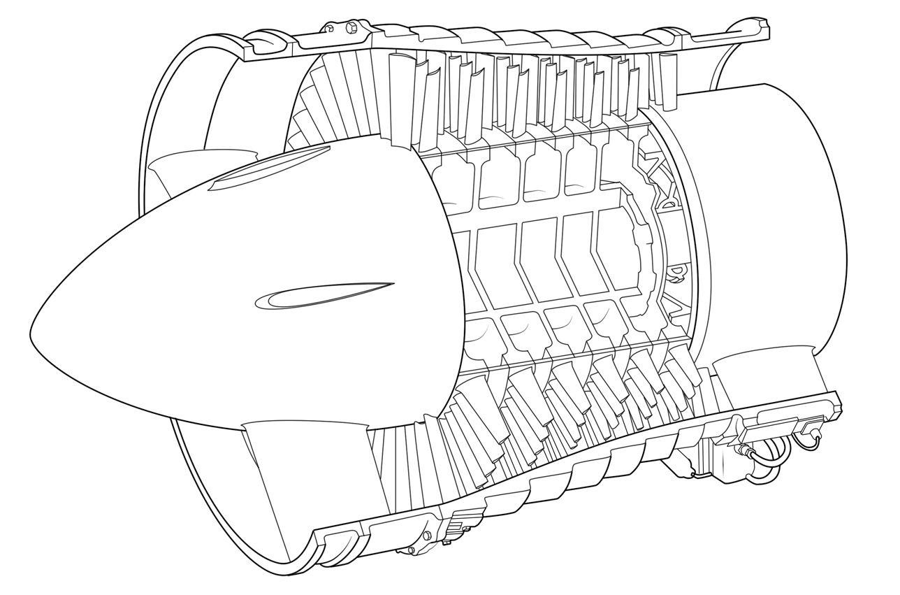 Jet Engine Detail Design The Compressor Aerospace
