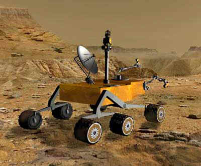 Mars Science Laboratory Rover Picture