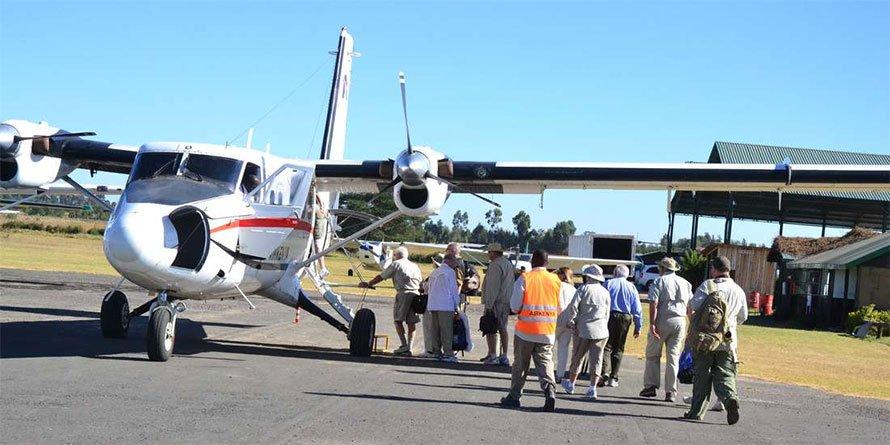 AirKenya plane
