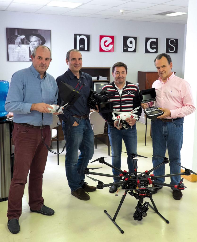 drones el equipo