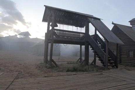 туман на городом
