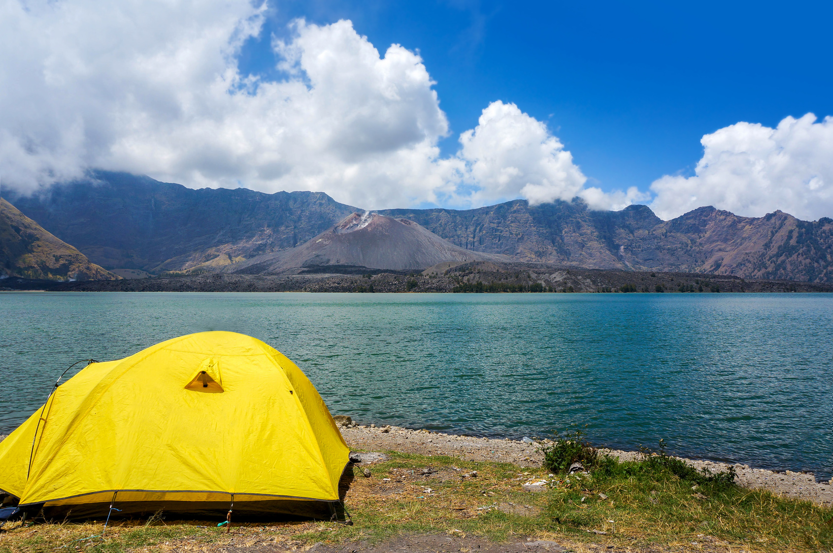 crater lake camping