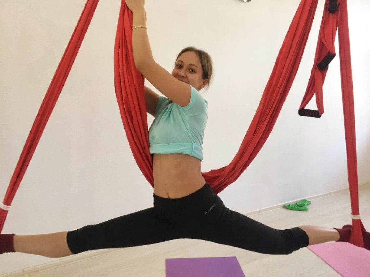 Аэро йога при остеохондрозе