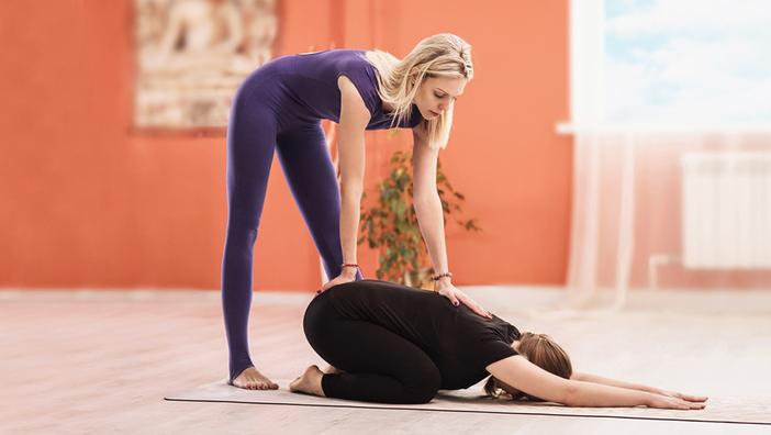 Позы йоги для хорошего ночного сна