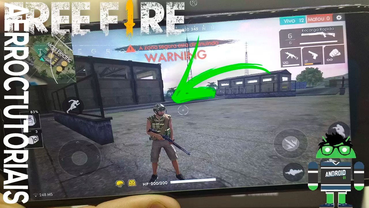 TIRAR LAG DO FREE FIRE dff