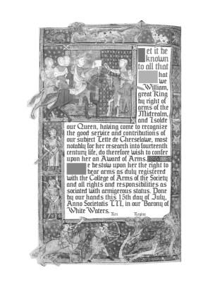 Source imagery: Folio 040v-2 Pseudo-Aristotle, Secretum Secretorum, translated by Philip of Tripoli (Philippus Tripolitanus) 1326-1327 London, England