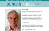 Duncan Forbes – poet and painter