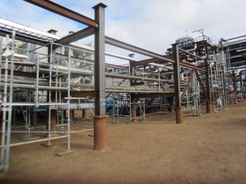 Secondary pipe rack-SRU Project-Alberta