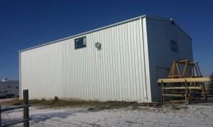 steel-building near Okotoks Alberta