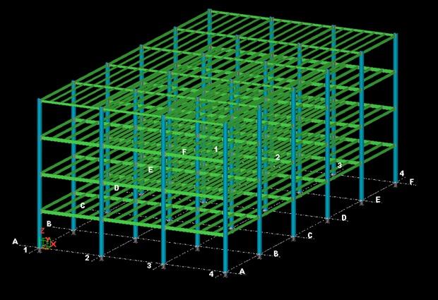 multistory Steel building
