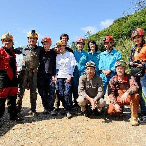 Visita ás grutas da Maceira – Festa da Juventude