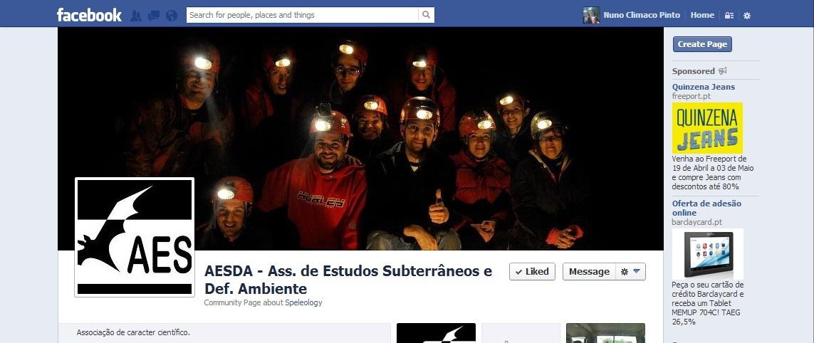 AESDA no Facebook