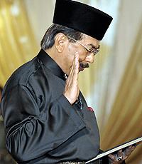 Ketua Menteri Sabah, Datuk Seri Musa Aman