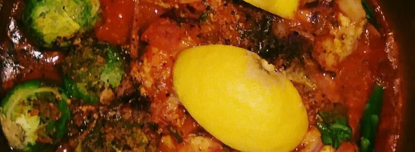 Würzig-Scharfes Cajun-Hühnchen mit Rosenkohl aus dem Ofen | Hauptgericht