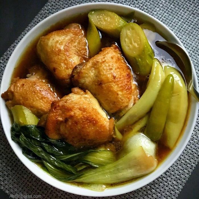 Tinolang Manok - main dishes