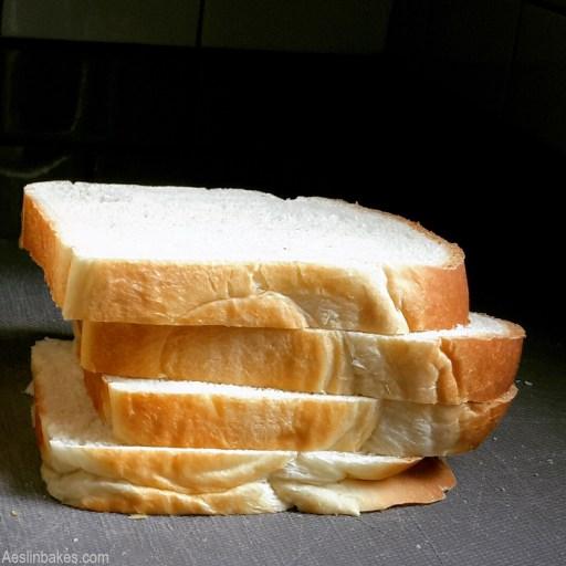 Slices of Japanese Milk Bread