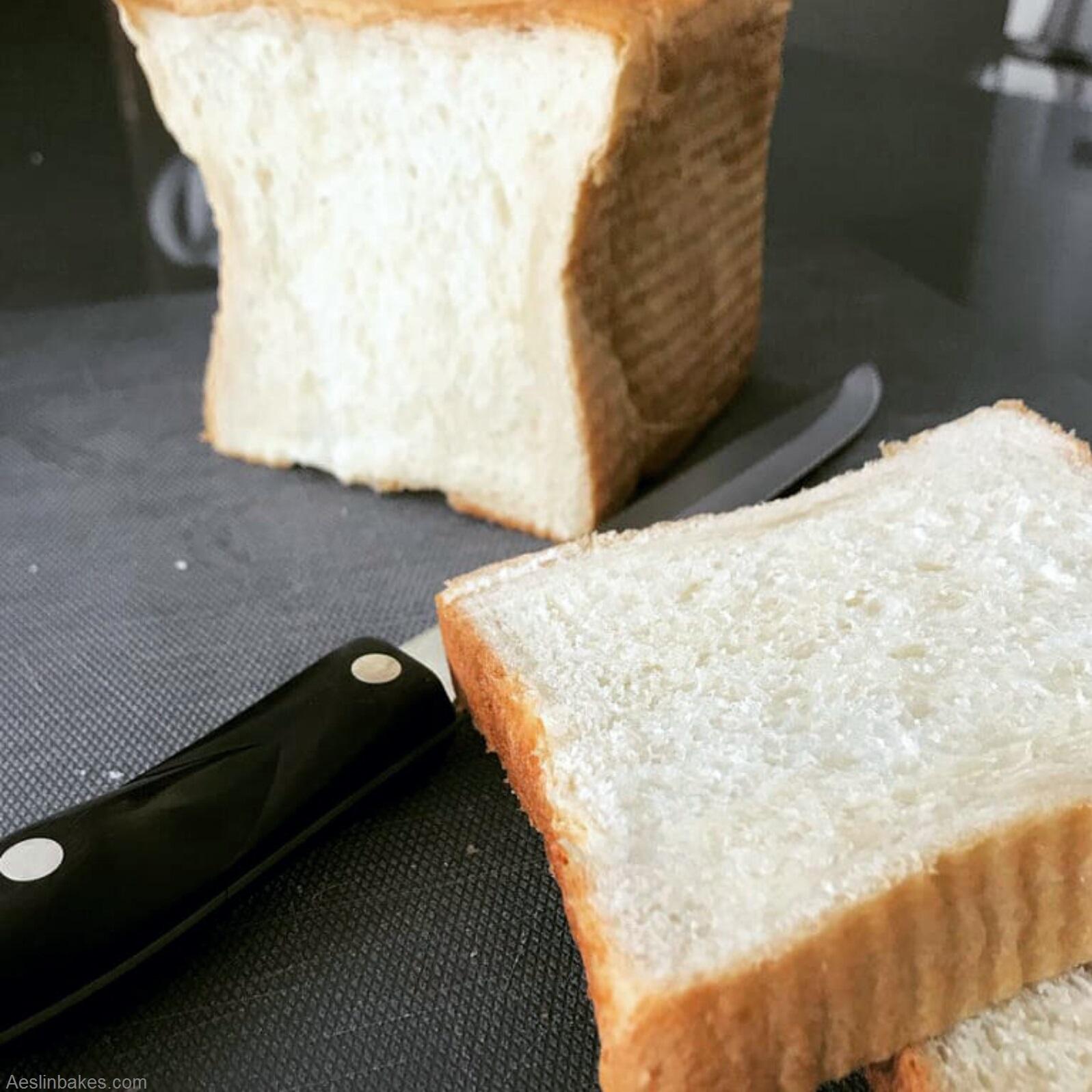 Soft Sandwich Bread sunken