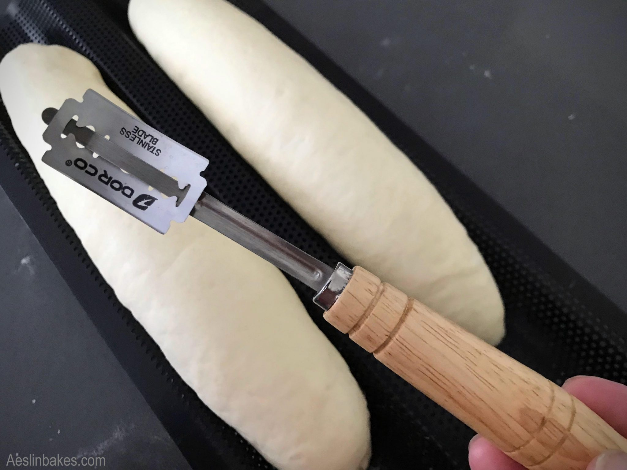 Lame - a blade used for slashing dough