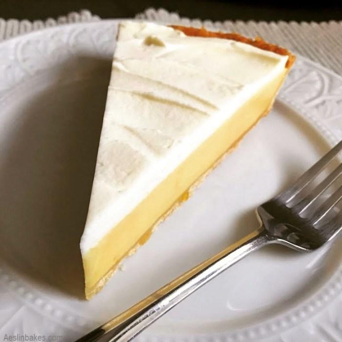 slice of lemon tart B