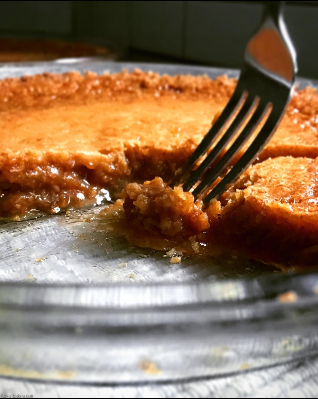 gooey brown butter crack pie