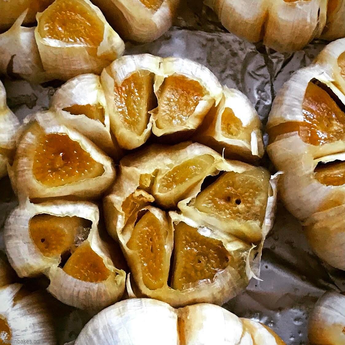 roasted garlic top