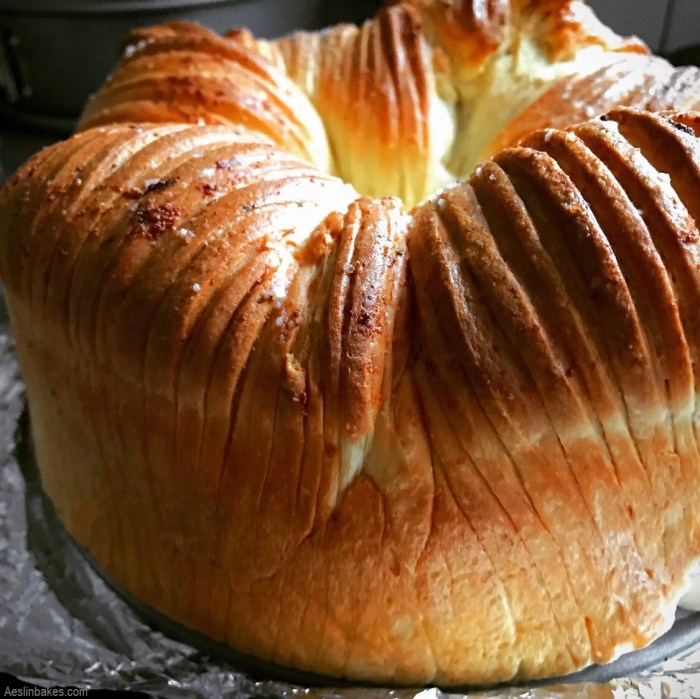fluffy wool roll bread loaf