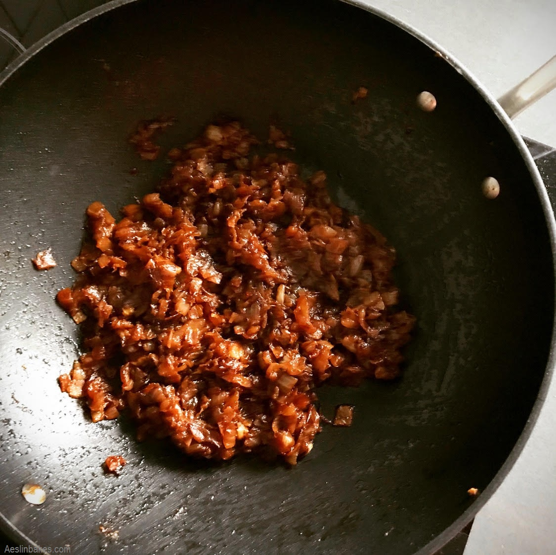 fully caramelized onions