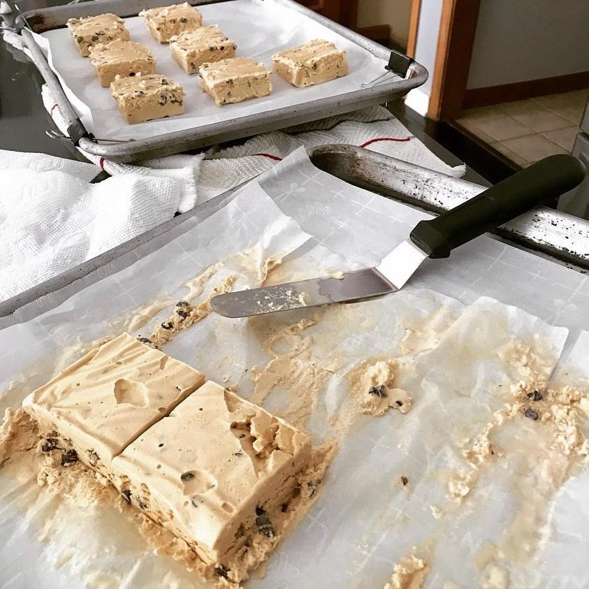 ice cream squares