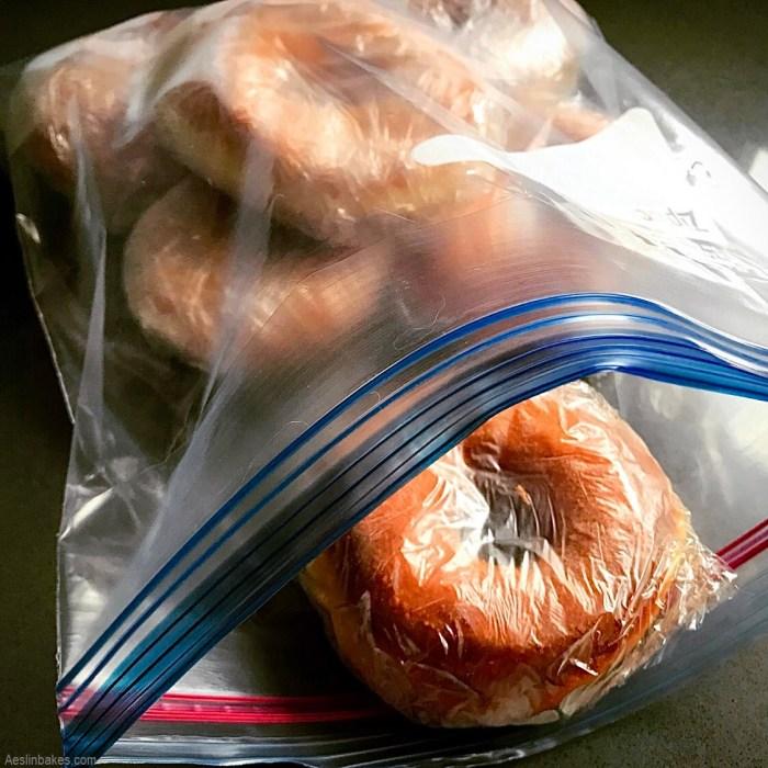 frozen sugar doughnuts
