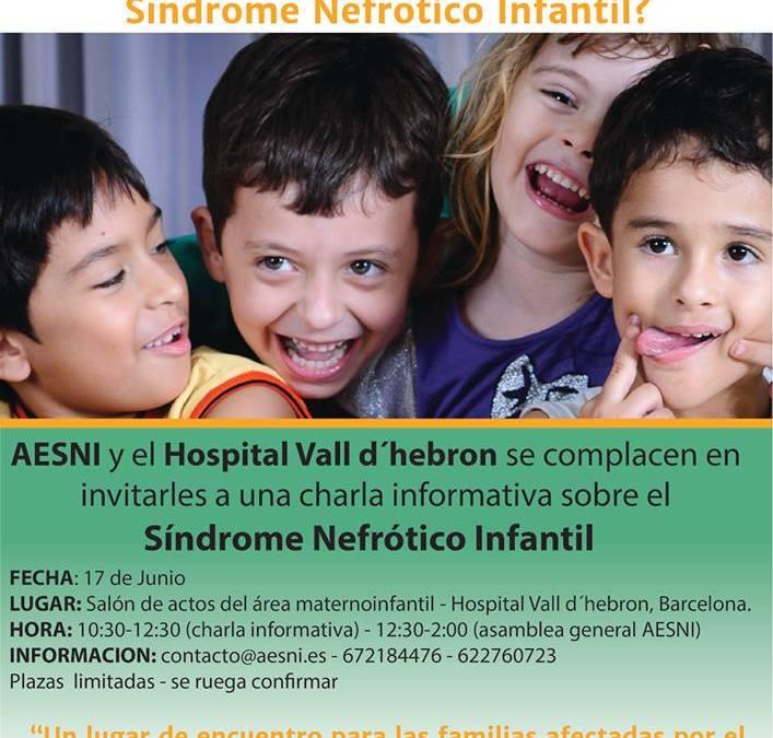 Charla Informativa en el Hospital Sant Joan De Deu, Barcelona.  Noviembre 2015