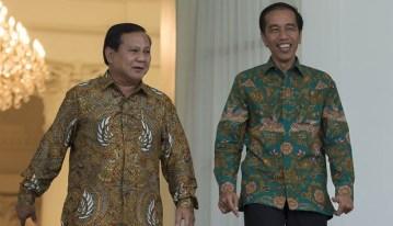 Joko Widodo dan Prabowo Dua Pendekar Pemberani