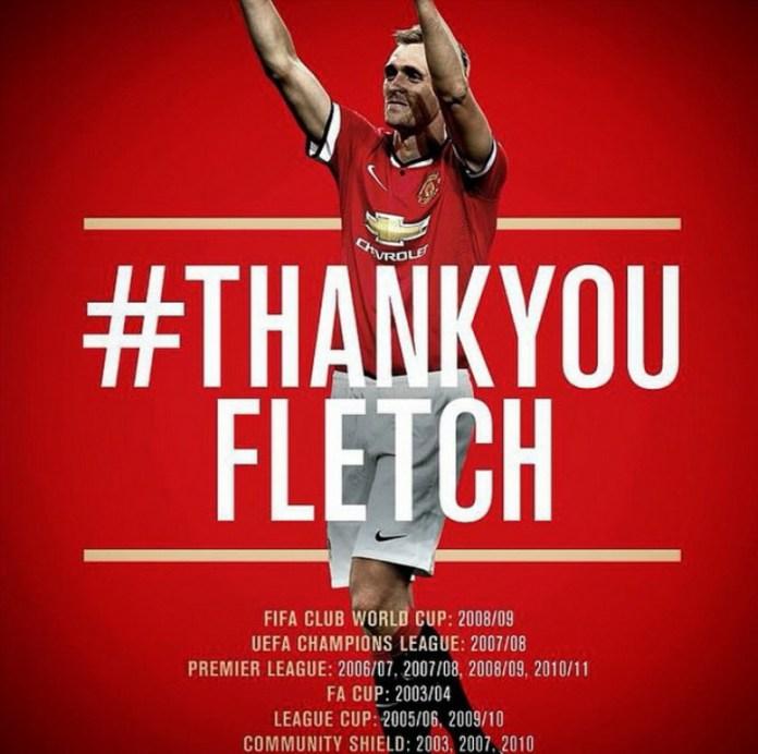 Kepergian Pemain legenda Manchester United, Darren Fletcher