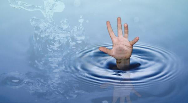 Seorang Bocah Kls (1) SD Tewas Terseret Arus Sungai Ciliwung