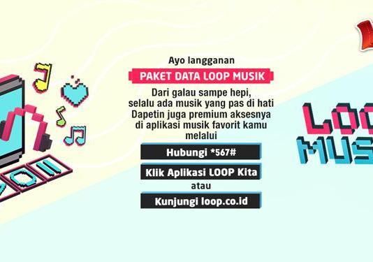 aplikasi streaming musik Joox Telkomsel