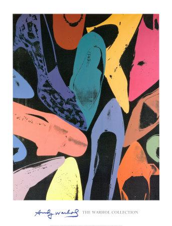 zapatos de polvo de diamantes. Warhol