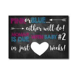 Countdown to Baby Card