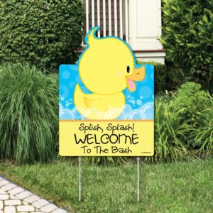 Duck Party Sign