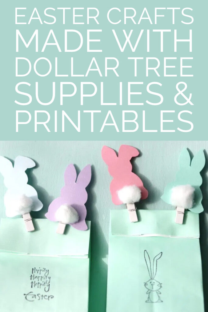 Super easy Easter crafts with printables