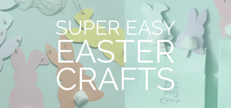 easter crafts with printables