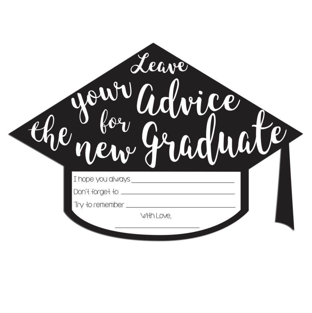Graduation Advice Cards