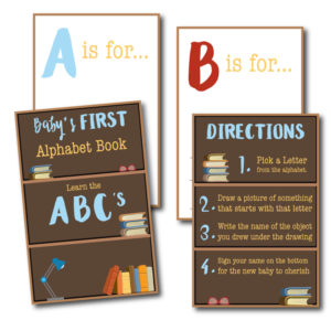 Baby's First Alphabet Book