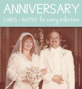 Anniversary Ideas for every Milestone
